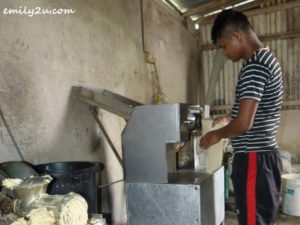 1 machine kneaded dough