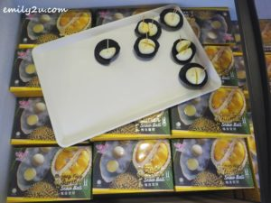 18 Good Chen Musang King Durian Snow Ball