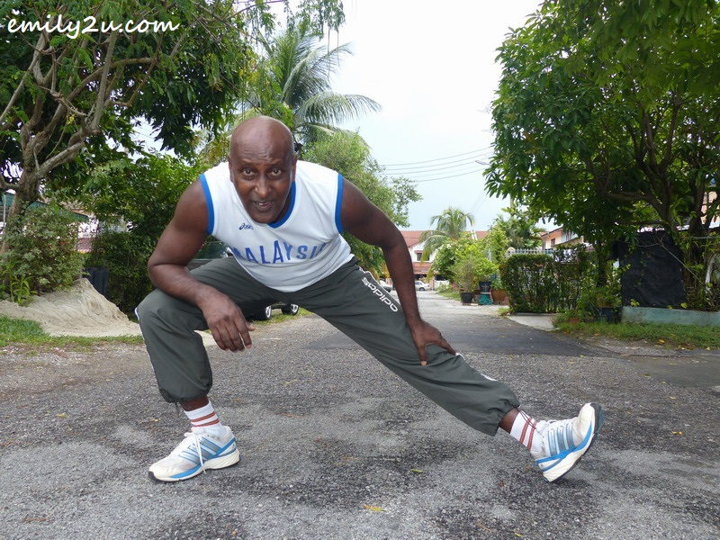 G. Deo stretching