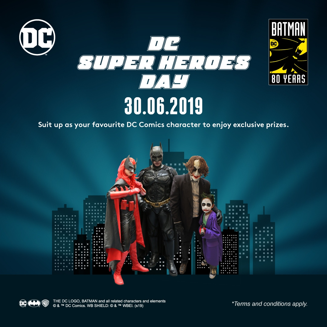 Suit Up As Your Favourite DC Ics Character On DC