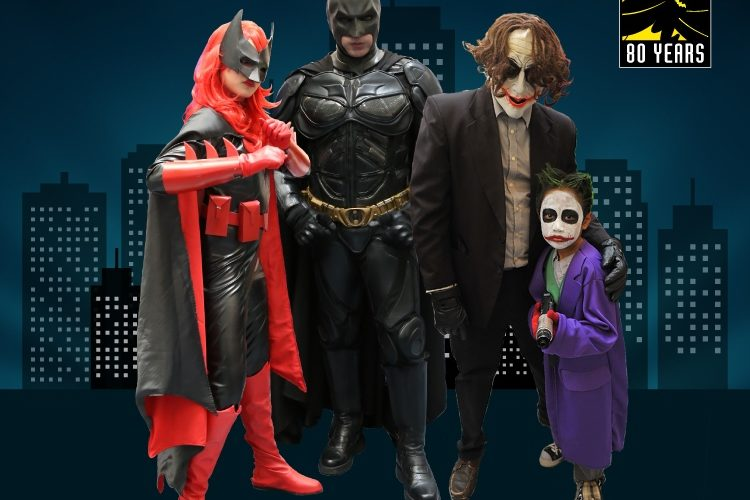 Suit Up As Your Favourite DC Comics Character on DC Superheroes Day @ RWG