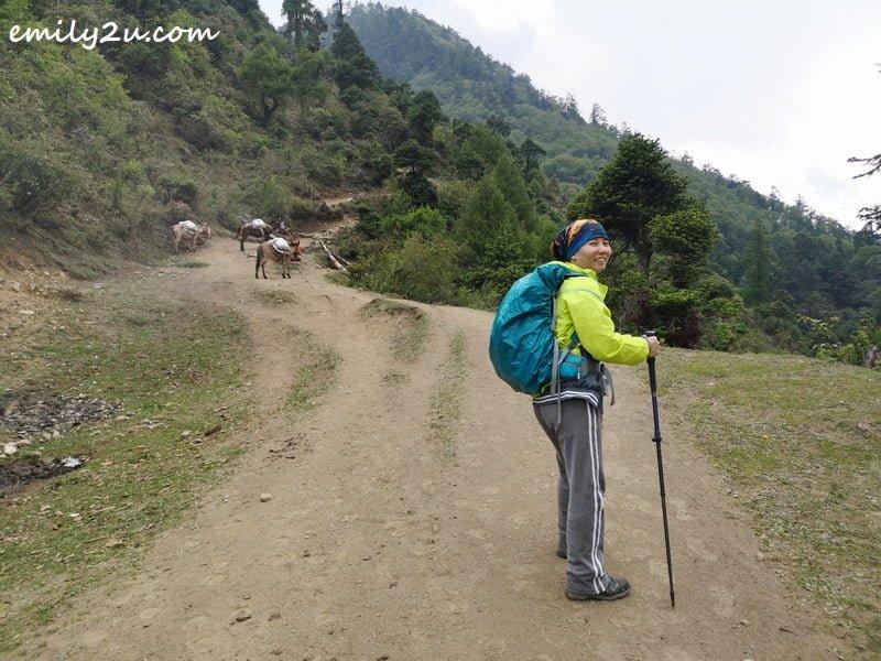 starting my trek: windbreaker from PTT Outdoor