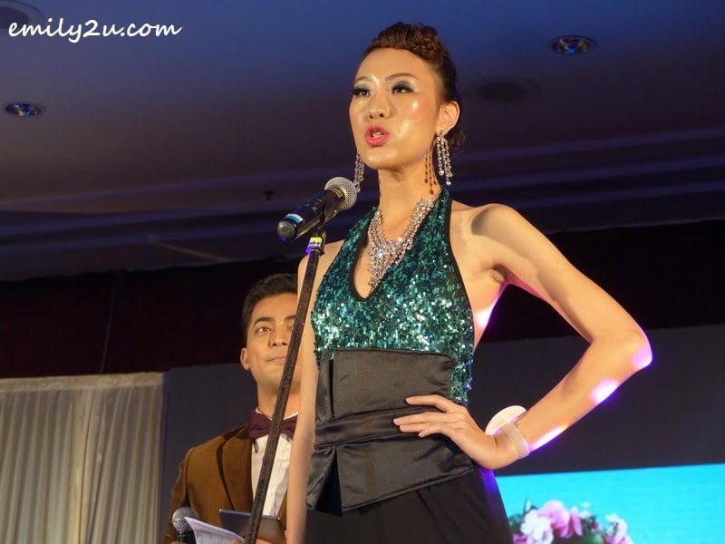 Danielle Wong Kar Wai during the Q&A session