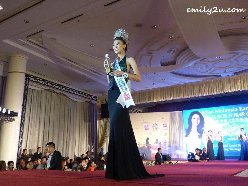 Danielle Wong Kar Wai - newly crowned Miss Malaysia Earth 2015