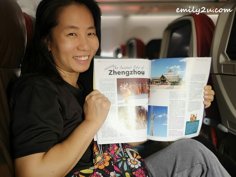 photo with my own article in Malindo Air in-flight magazine May 2019 issue on board OD 184 to Kathmandu on the second last day of the month