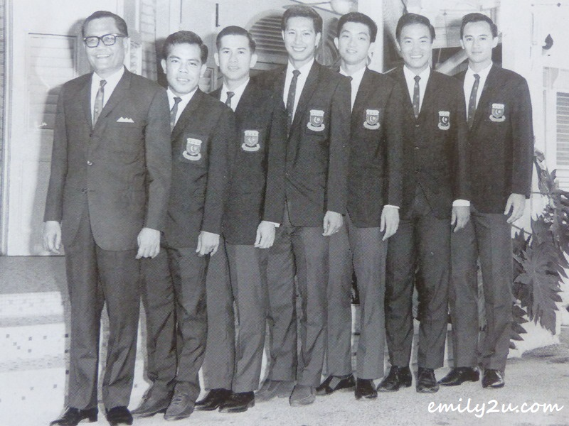 1967 Thomas Cup squad - Tan is second from right
