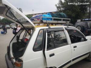 taxi luggage