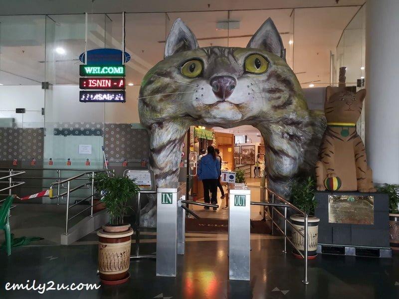 Cat Museum in Kuching, Sarawak