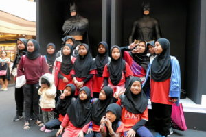 1 Girls of Rumah Titian Kaseh at Batman Experience