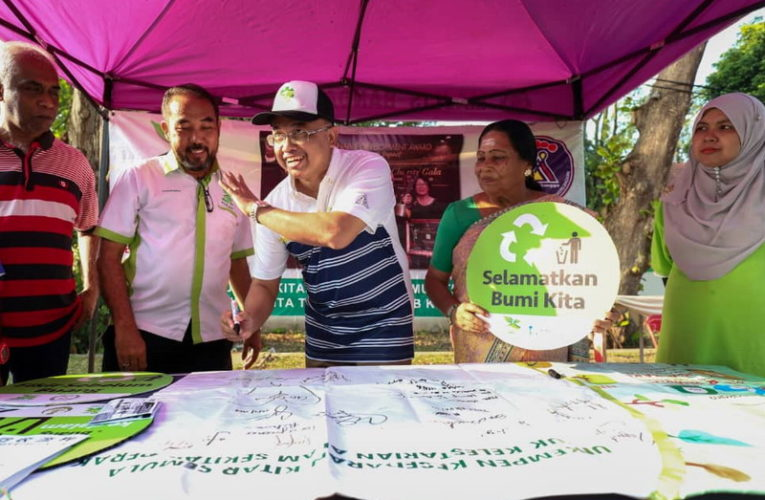 New Ipoh City Mayor Participates in Ipoh Car-Free Day