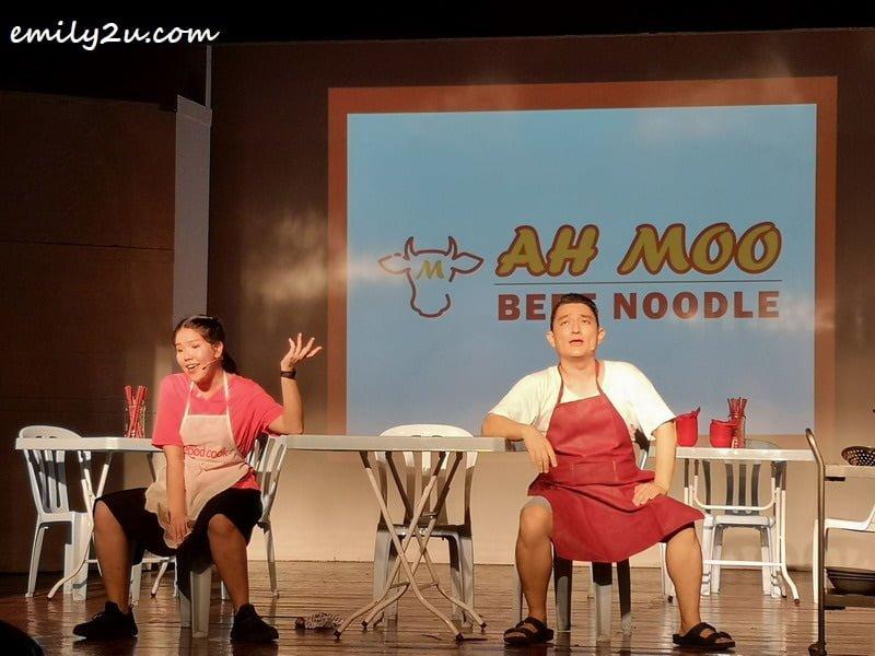 Ah Moo Beef Noodle (food stall)