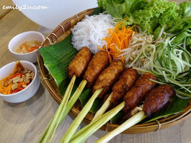 Nem Cuon Rice Wrap Platter