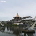 Kuching's Darul Hana Bridge