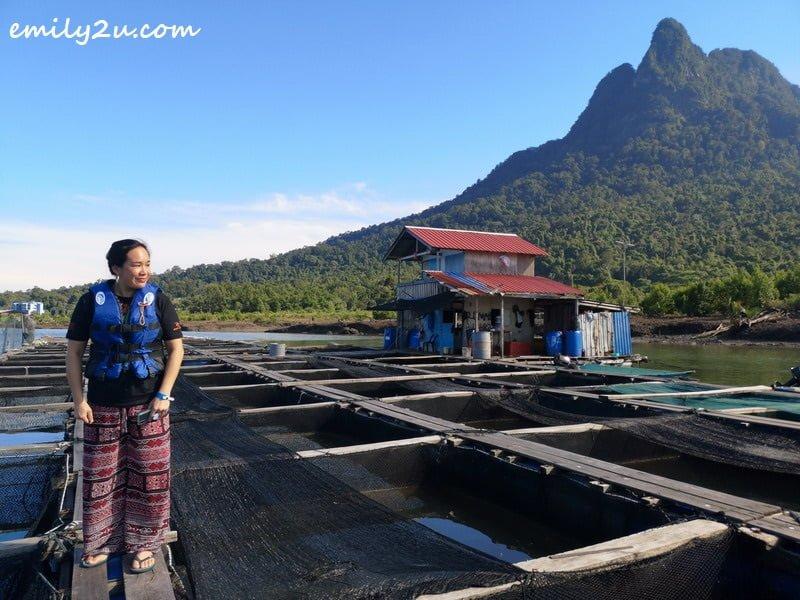 photoshoot with Mount Santubong as backdrop