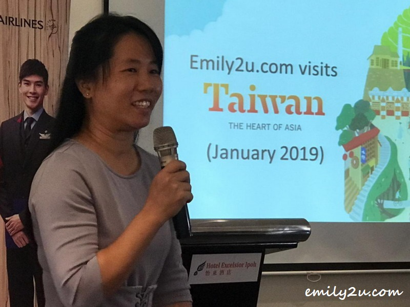 Emily shares her experience visiting Taiwan