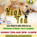 Announcement: High Tea With Noah's Ark
