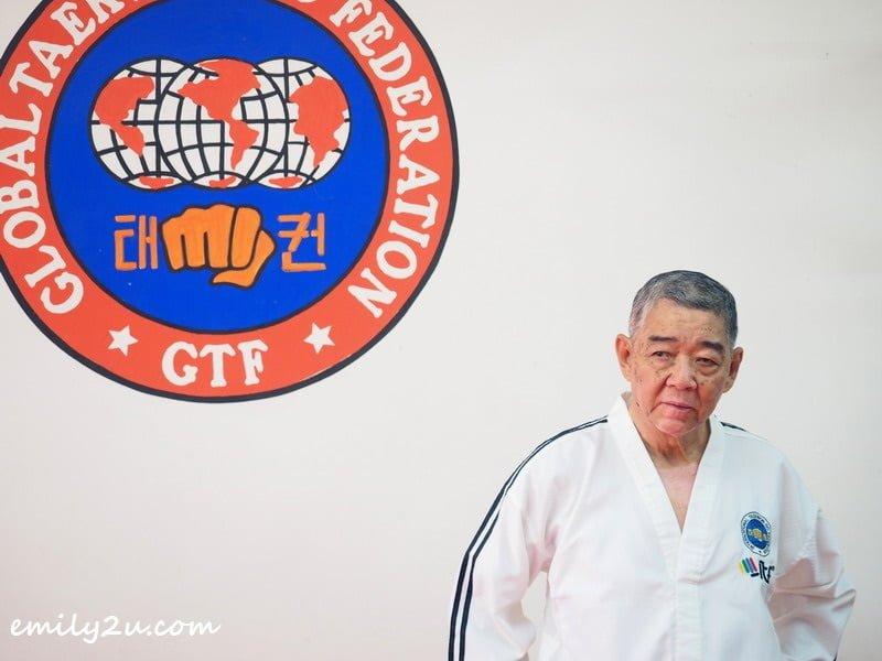 Grandmaster Yeow Cheng Watt, 9th Degree Black Belt of CW Yeow Traditional Taekwon-Do Academy