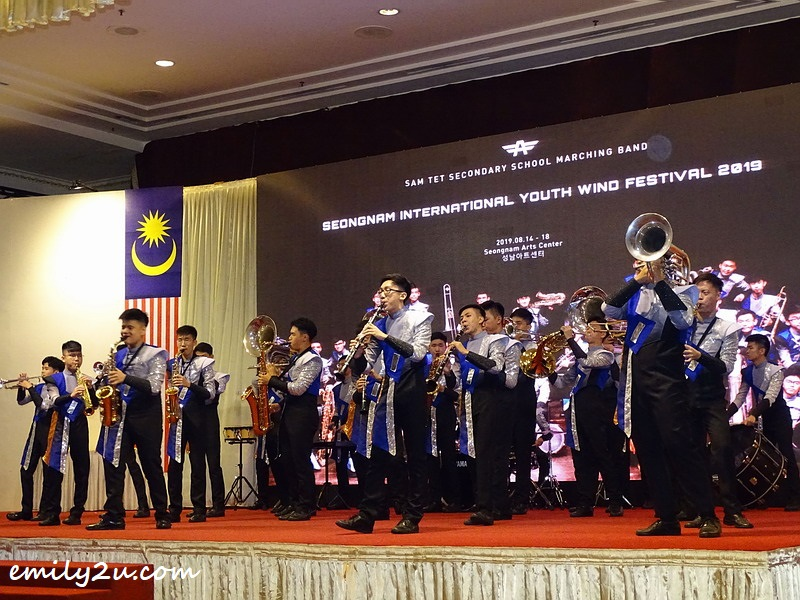 Sam Tet Secondary School Marching Band