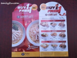 1 Oldtown White Coffee Double Date Promotion