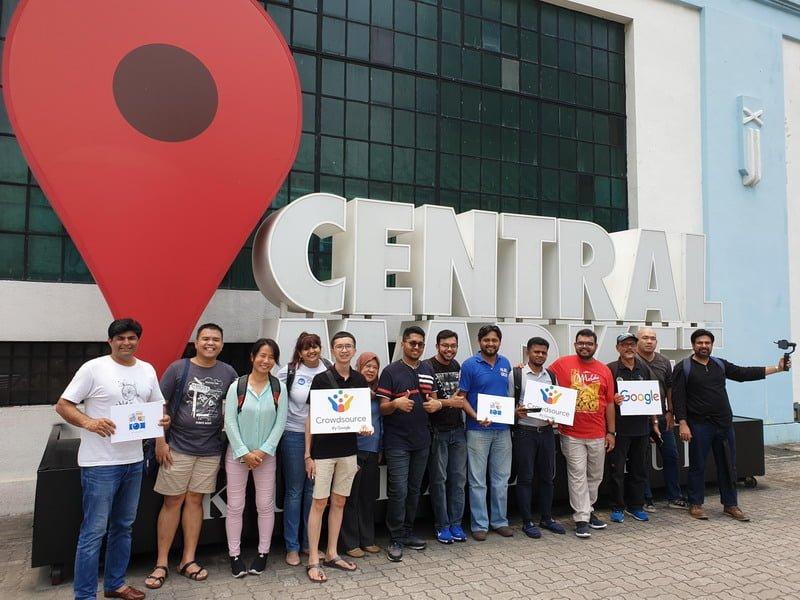 group shot at Central Market Kuala Lumpur (photo by Stephen Abraham)