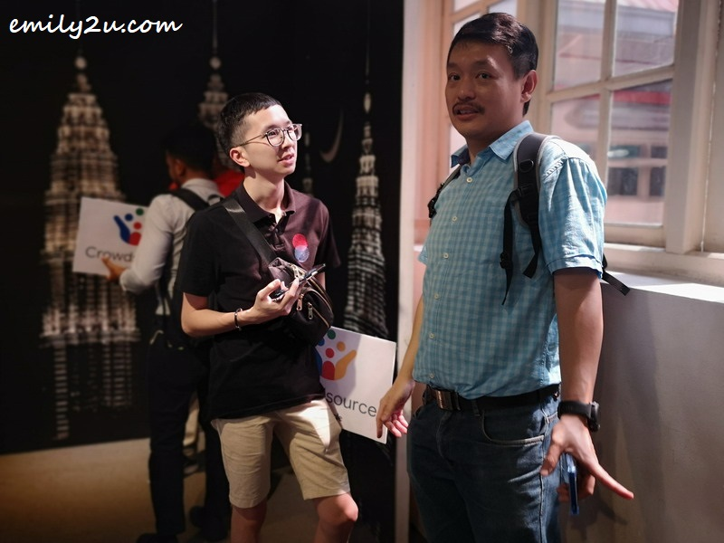 Jerry Song (L) & Stephen Abraham (R)