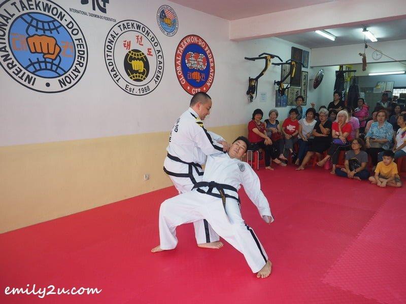 Taekwon-Do demonstration