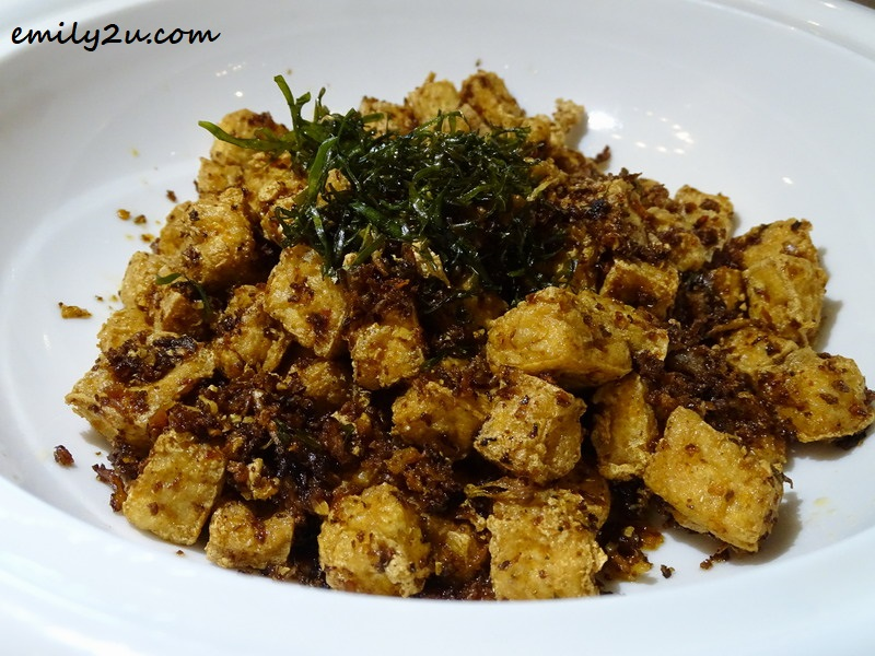 Wok-fried Bean Curd with Chilli & Garlic