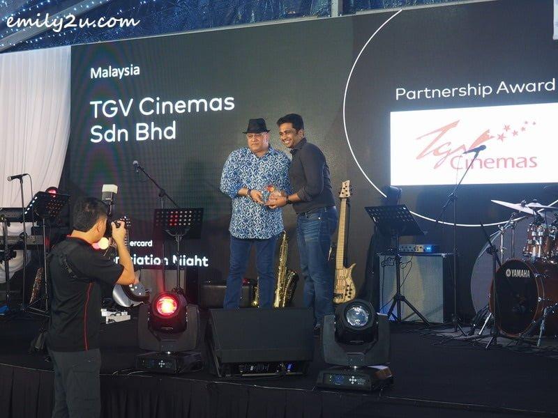 Partnership Award: TGV Cinemas Sdn Bhd