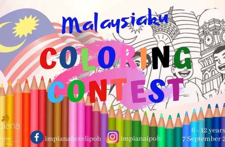Impiana Hotel Ipoh Malaysiaku Children's Coloring Contest