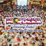 Merdeka colouring contest