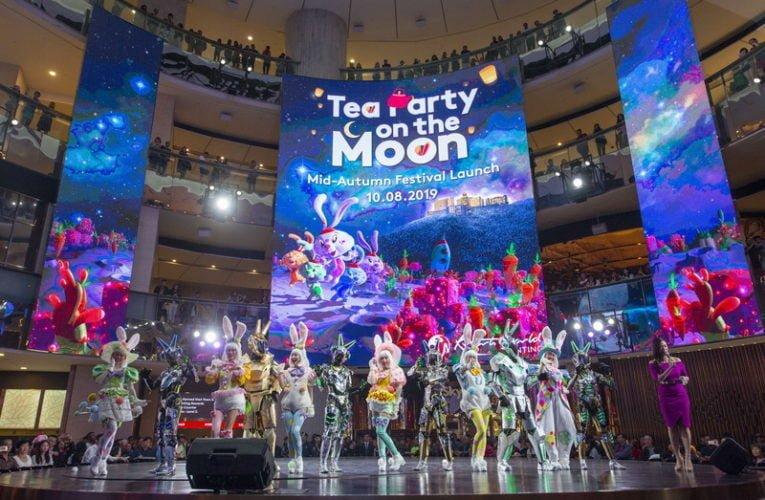 Mid-Autumn Festivities with a Tea Party on the Moon