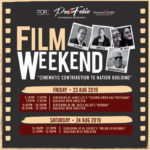 Announcement: Sharpened Word August 2019: Up Close and Personal with Malaysian Movie Directors