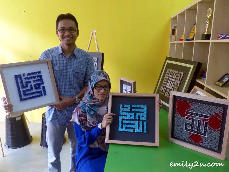 Ahmad Syafii'ei (L) & Amal Tahir (R)