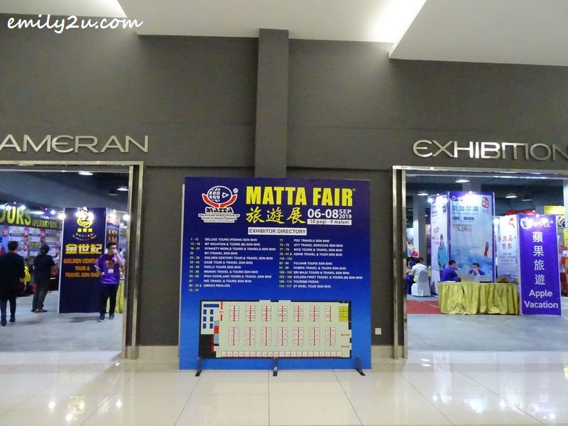 Perak MATTA Fair at Ipoh Convention Centre
