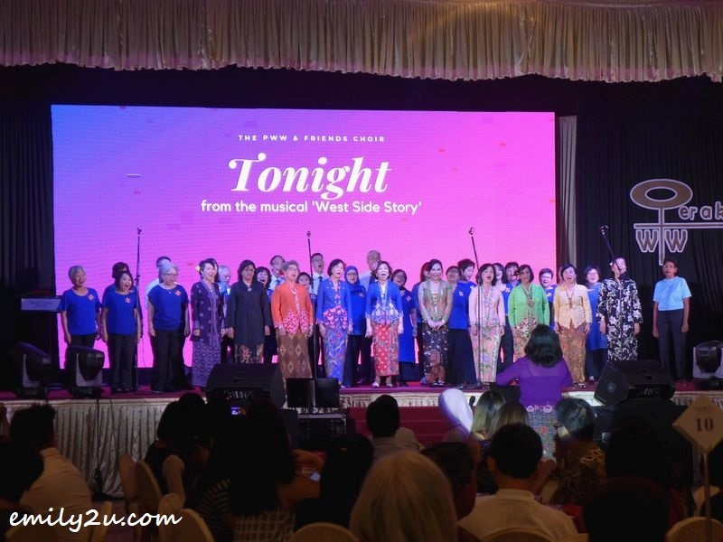 choir presentation