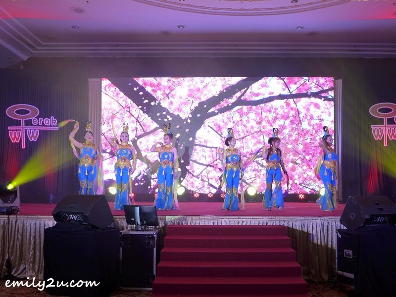 Chinese fairy dance by members of Geok Dance Centre & QiPao Association