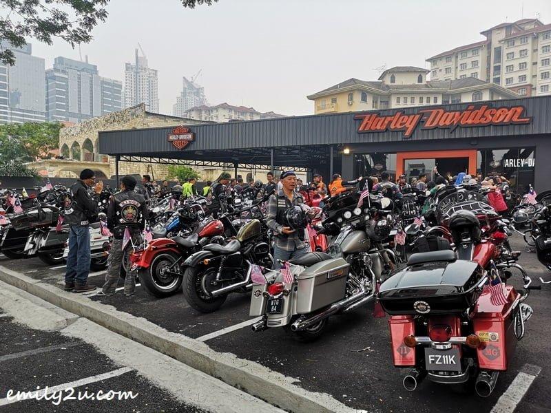 obligatory stop at Harley-Davidson Kuala Lumpur