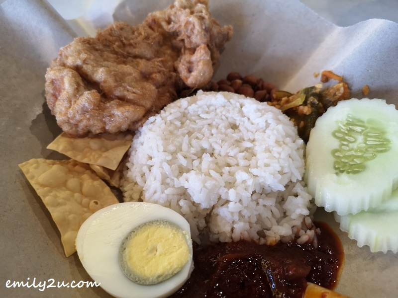 Nasi Lemak Fried Chicken Chop (RM16.98)