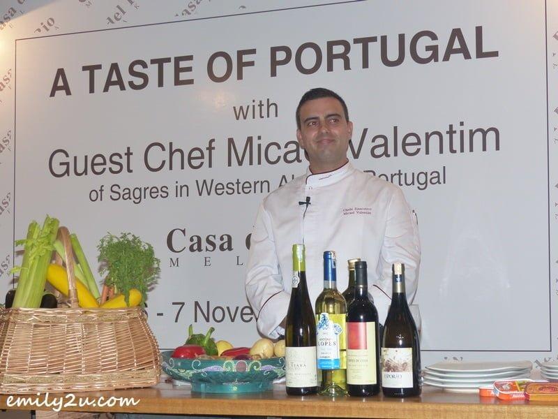 Chef Micael Valentim