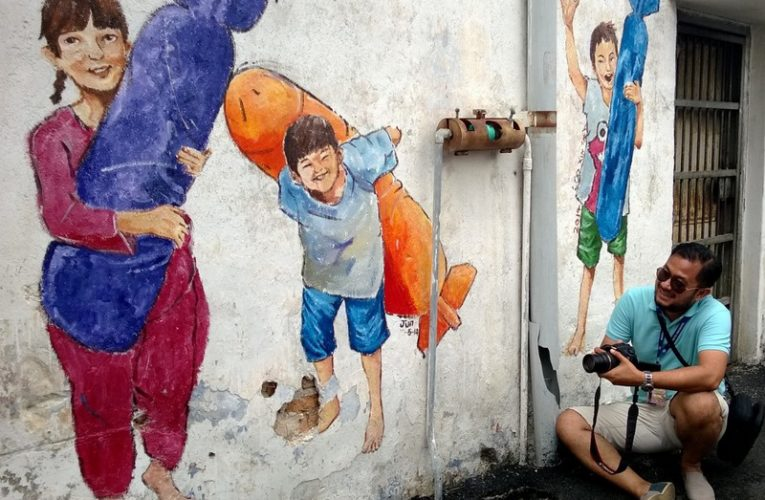TV Man Can't Get Enough of Ipoh