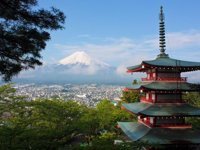 Fujiyoshida, Japan (Photo by David Edelstein on Unsplash)