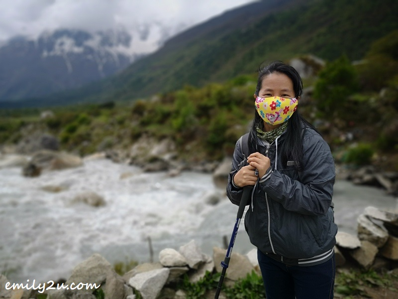 yours truly's maiden hiking trip in Nepal