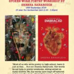 Announcement: Spoken Work Poetry Workshop