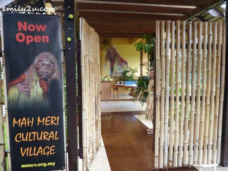 entrance to Mah Meri Cultural Village
