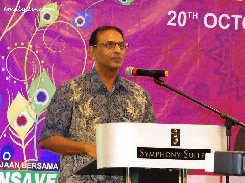 Symphony Suites Hotel General Manager Muhamad Hairil Kumaradas