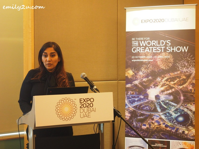 Ms. Sumathi Ramanathan, Director - Destination Marketing for Expo 2020 Dubai