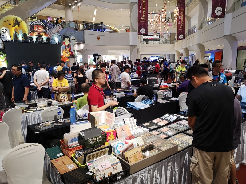 5th Ipoh Coins Fair-cum-first International Numis Conference 2019 at Ipoh Parade: A large crowd came up close and personal with the avid collectors.