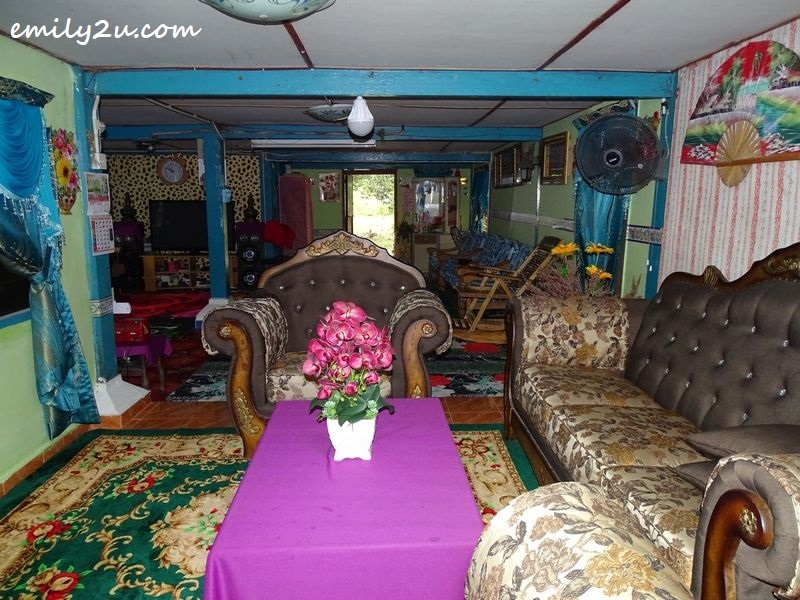 living room of a homestay