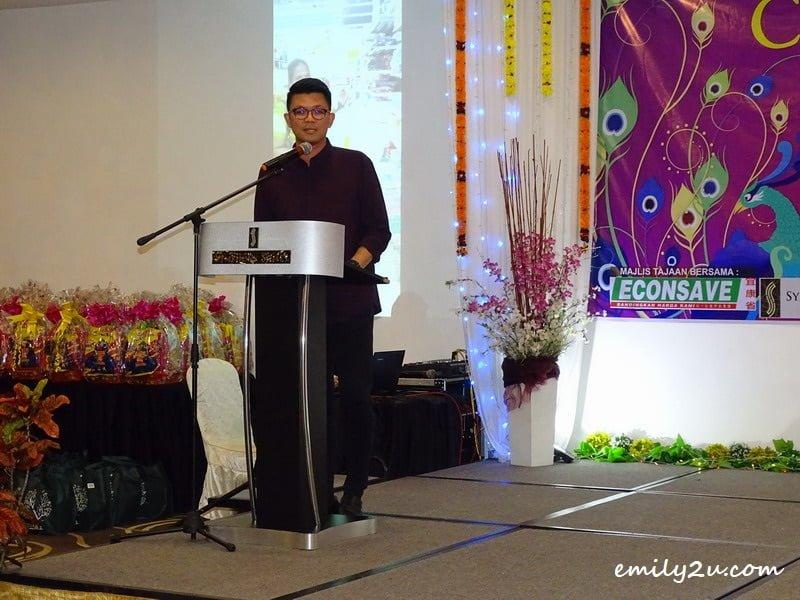 YB Tan Kah Hing (Perak Tourism ExCo)