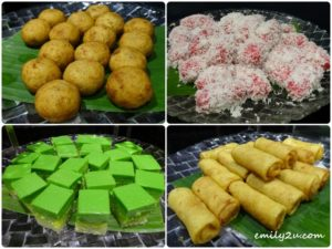24 Malay kuih